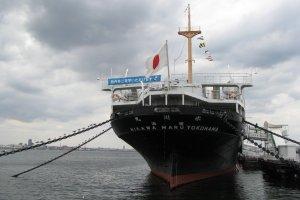 На пристани Йокогамы