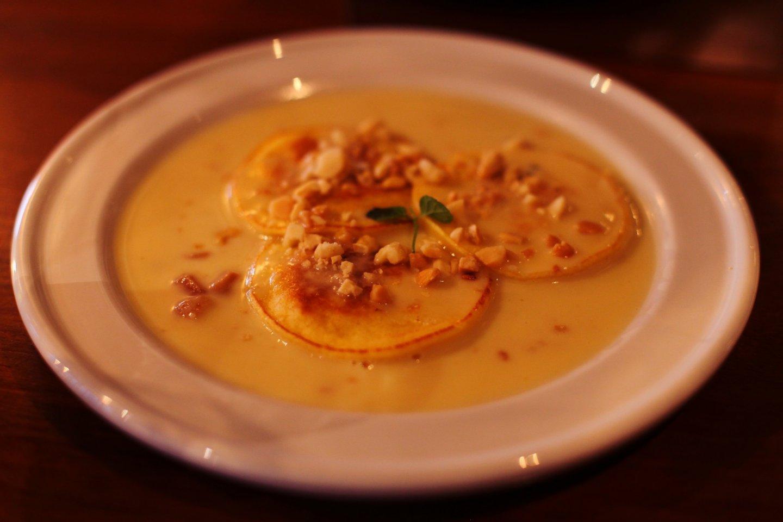 Delicious macadamia pancakes