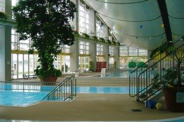 First floor pools