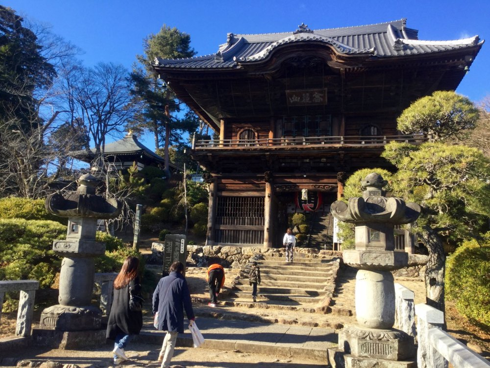 Entrance to Shoden-in Temple