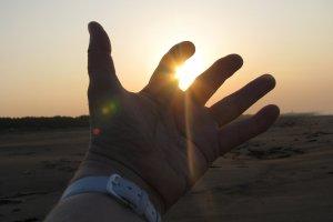 Начало нового дня на Земле