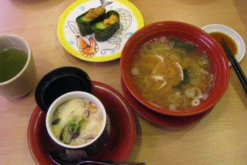 Чаванмуши и суп