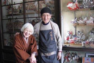 Супруги Мимура в их студии