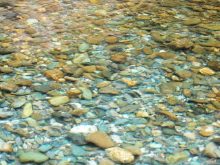 Airnya sangat bening