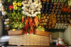 The entranceway of Jyagaya Vegetable Dining