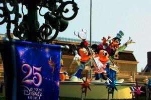 迪士尼卡通人物大集结