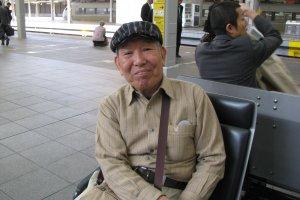 Случайный знакомый - продавец кимоно