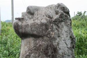 Koga stone statue