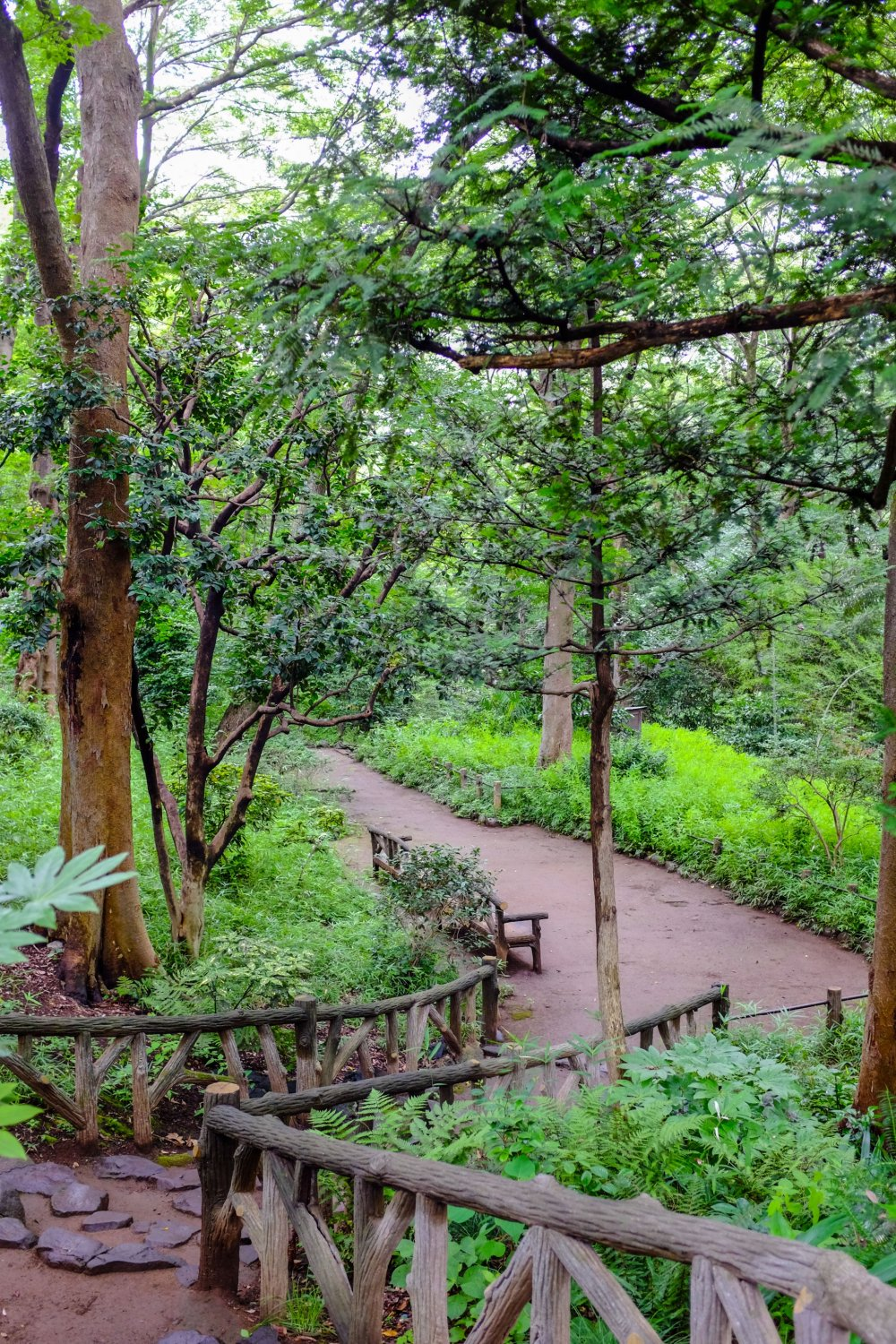 Lush green gardens make this a beautiful place to take a stroll.