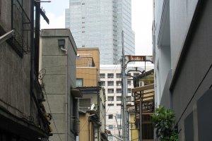 Большой Токио вдали