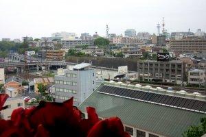 Вид на город Мито