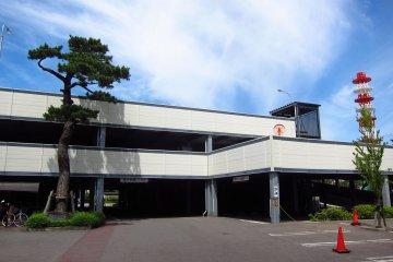Multi storey carpack facility
