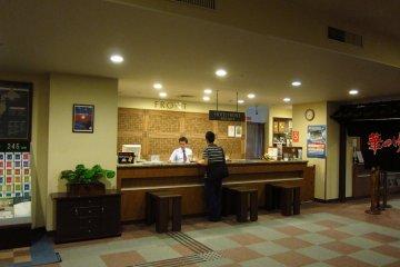 Welcoming Lobby at Hotel Grantia Akita Spa Resort