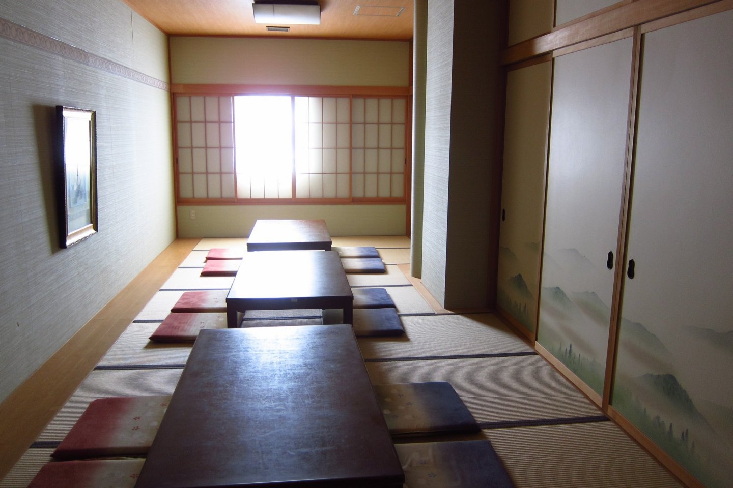 Japanese style conference rooms at Hotel Grantia Akita Spa Resort