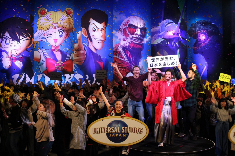 USJ Moon Pass Case Universal Studios Japan Cool Japan 2019 Japan