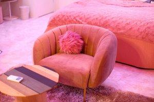 Plenty of plush furniture