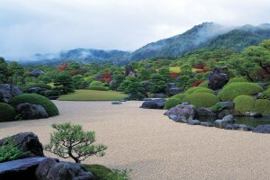 Gardens at the Adachi Museum of Art