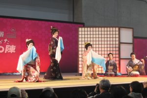 이틀동안 열리는 이벤트에서 문화 공연도 진행된다.