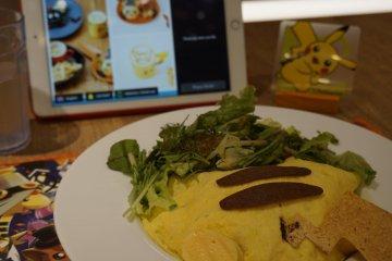 Pikachu Omelette Rice