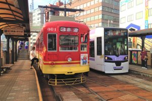 Nagasaki Eki Mae tram station