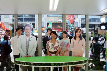 <p>Become a new member of the morning news channel,&nbsp;Mezamashi TV!</p>
