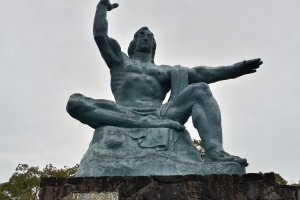 The famous Peace Statue by Kitamura Seibo