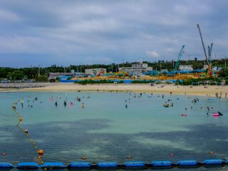 Emerald Beach, located in the Ocean Expo Park