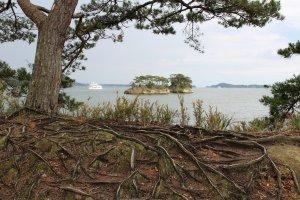 Вид на залив с острова Осима