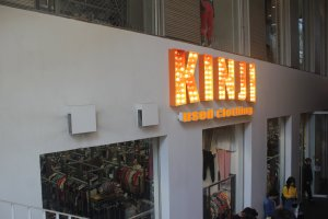 Kinji Thrift Store in Shibuya