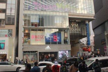 WEGO at YM Square Shibuya