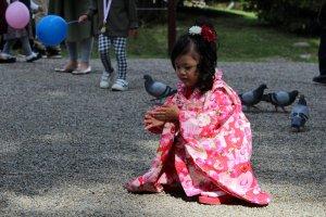 Даже в кимоно хочется поиграть!