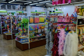 From stationary to party accessories, Seria has it covered