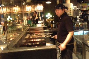 If you can, sit at the counter to see and smell what the cook is preparing. It is all part of the experience.