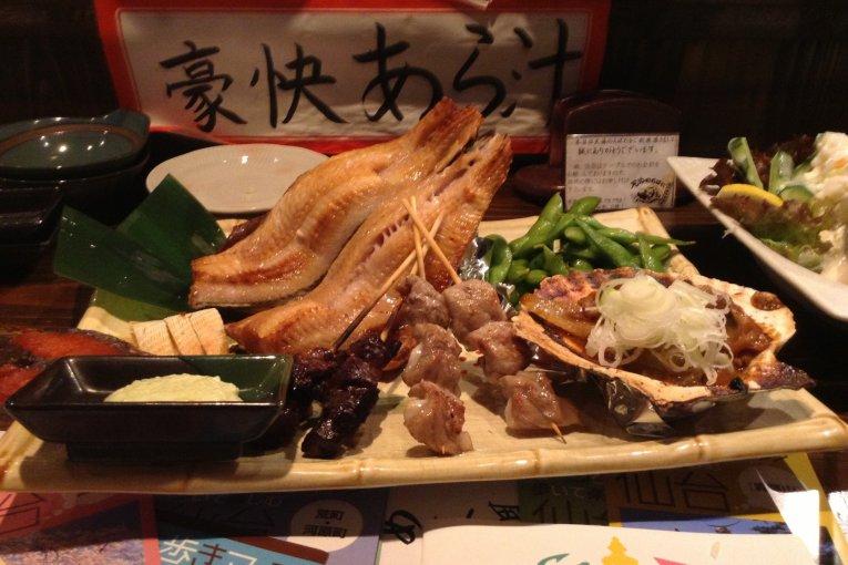 Izakaya Robata, Pasar Ikan Oshu