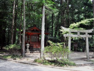 The route starts in this location, in Hosshinmon-oji