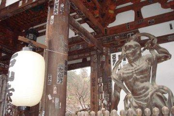 The main shrine gates