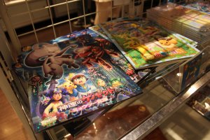 Of course there is a gift shop right inside the theater! Purchase character goods from the current hit movies.