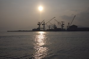 industrial hiroshima (cranes)