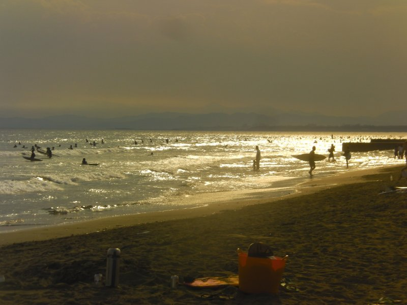 The beach at sunset: where else would you rather be?