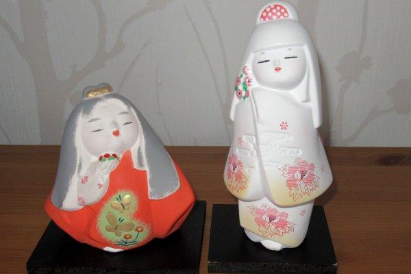 Куклы хаката, присланные из Фукуоки