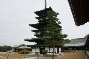 Yakushiji Temple in Nara