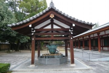 Temple fountain to cleanse your soul