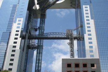 Здание Umeda Sky в Осаке