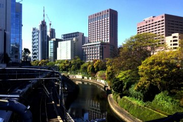 The Kanda River, once a major source of Edo water