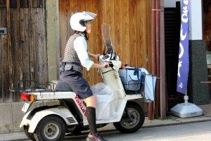Рабочий мотоцикл