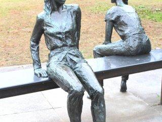 Красивая скульптура!