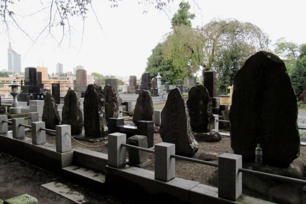 Кладбище в Сендае