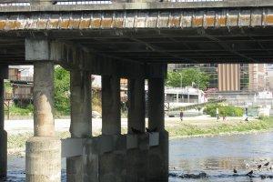 Мост Годзё охаси в Киото