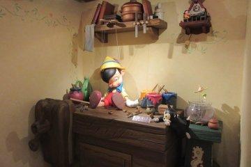 Сценки из знаменитых мультфильмов Диснея