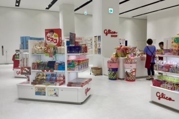 The Glico showroom stocks specialty and regional sweets
